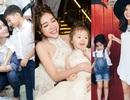 "Thời trang ""ton sur ton"" siêu đẹp của 3 cặp mẹ con Vbiz Việt"