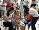 Tiếp sức cho các bệnh nhân nhi ở Viện K3 Tân Triều