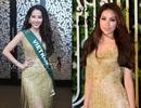 Nam Em gây chú ý tại Miss Earth khi mặc lại váy giống Phạm Hương
