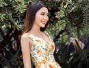 Nữ diễn viên 9X đẹp trong veo với đầm họa tiết