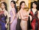 Hồng Nhung, Lệ Quyên đọ sắc Thụy Vân, Đan Lê với váy áo gợi cảm