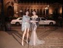 Hoa hậu Ngọc Duyên ngồi siêu xe đến show diễn thế giới