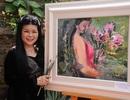 Nữ họa sĩ được Tổng thống Obama viết thư cảm ơn trình làng tranh Tết