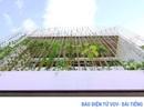 """Ngôi nhà với """"khu vườn đứng"""" độc đáo tạo không gian xanh"""