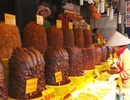 """Vàng ươm những """"núi"""" mắm ở chợ vùng biên An Giang"""