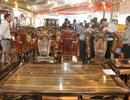 Ngắm bộ bàn ghế gần tỷ đồng ở lễ hội cà phê