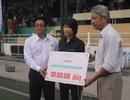 Hoàng Hà Giang được quyên góp 136 triệu đồng hỗ trợ khó khăn