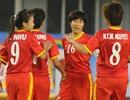 Bóng đá nữ: Mục tiêu vào VCK World Cup đang bị Thái Lan đe dọa