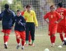 Đội tuyển nữ Việt Nam thắng 11-0 trước Lào trong trận đấu tập