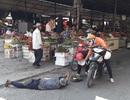 Nhức nhối nạn nằm vạ ăn xin trên cầu và chợ