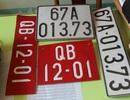 Bắt ôtô gắn biển số đỏ giả, vận chuyển hàng lậu