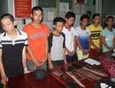 7 thanh niên bắt taxi đi chém người, chưa kịp ra tay… đã bị công an bắt