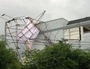 155 căn nhà sập, tốc mái sau trận mưa lớn kèm lốc xoáy