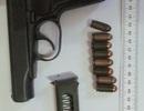 """Khám xét nơi ở """"Trung tá bắn người"""", thu giữ 3 khẩu súng và 500 viên đạn"""