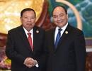 Thủ tướng làm việc với các lãnh đạo Lào