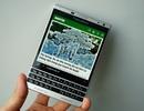 Cận cảnh Blackberry Passport phiên bản màu bạc tại Việt Nam
