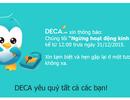 Trang thương mại điện tử DECA bất ngờ đóng cửa