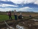 """Nắng như """"phang"""", đất """"nứt toác"""", nước cạn khô... nông dân gồng mình chống hạn!"""