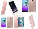 Những mẫu smartphone chính hãng màu hồng cho ngày 8/3