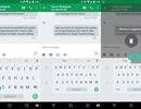 Bàn phím Google 5.0 cập nhật chế độ gõ bằng một tay