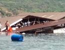 Nhà bè sập, hàng trăm người rơi xuống biển: Không đủ điều kiện làm bè nổi du lịch