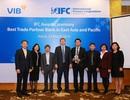 """Ngân hàng Việt nhận giải thưởng """"Ngân hàng tài trợ thương mại tốt nhất khu vực Đông Á - Thái Bình Dương"""""""