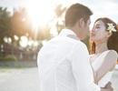 Á hậu Diễm Trang khoe ảnh cưới ngọt ngào, lãng mạn