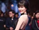 Hoa hậu Thu Thuỷ bất ngờ tái xuất với váy hở lưng đầy gợi cảm