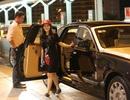 Lý Nhã Kỳ ra sân bay sang Pháp dự LHP Cannes trên xe hơi 17 tỷ