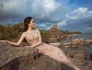Hoa hậu Nguyễn Thị Huyền khoe nét gợi cảm mê hồn trước biển