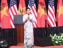 Diva Mỹ Linh nói gì sau khi hát trong sự kiện Tổng thống Obama phát biểu?