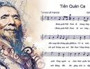 Gia đình cố nhạc sĩ Văn Cao hiến tặng Quốc ca theo di nguyện