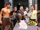 Hồng Ánh tổ chức sinh nhật cho Ngọc Thanh Tâm trên phim trường