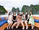 Người đẹp Hoa hậu Việt Nam khoe sắc trên du thuyền triệu đô