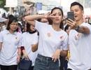Đức Tuấn, Hoa hậu Mỹ Linh chạy bộ vì trẻ em Hà Nội