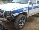 Tài xế liều lĩnh tông hỏng xe CSGT chạy trốn lĩnh 15 tháng tù