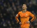 """""""Vận đen"""" tiếp tục đeo bám Ronaldo trong trận gặp Espanyol"""