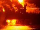Azerbaijan: Cháy giàn khoan dầu trên biển Caspi, 30 người mất tích