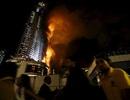 Nhân chứng miêu tả cảnh lửa ngùn ngụt bao trùm khách sạn Dubai