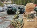 Mỹ bí mật đưa xe tăng, pháo đến sát biên giới Nga