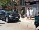 Xây dựng sai phép còn lái ô tô tông vào ô tô đoàn kiểm tra
