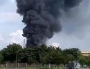 Nổ lớn tại công ty Vedan, cột khói đen bốc cao hàng chục mét