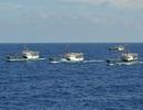 Đêm qua, tàu cá Trung Quốc bắt đầu đánh bắt tại Trường Sa