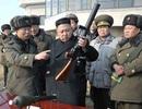 """Lãnh đạo Triều Tiên thị sát tập trận """"chiến tranh thật"""""""