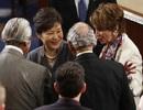 """Tổng thống Hàn Quốc """"ghi điểm"""" với bài phát biểu trước quốc hội Mỹ"""