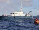 Tàu chiến Trung Quốc xâm phạm Bãi Cỏ Mây