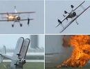 Mỹ: Máy bay nổ tung khi trình diễn, 2 người thiệt mạng