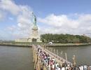 """Tượng Nữ thần Tự do """"tái xuất"""" đúng ngày Quốc khánh Mỹ"""
