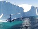 Bay vòng quanh thế giới bằng trực thăng trong 44 ngày