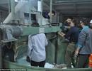 Sự cố hi hữu công nhân bị kẹt đầu trong máy dệt